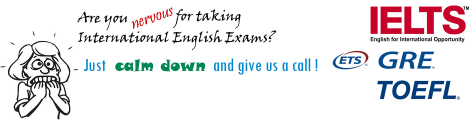 We help you to get rid of International Exams